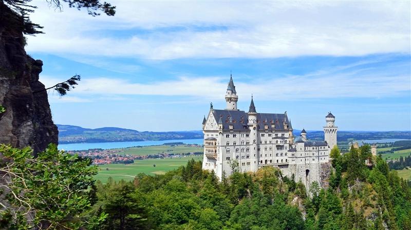 Austria si Castelele Bavariei
