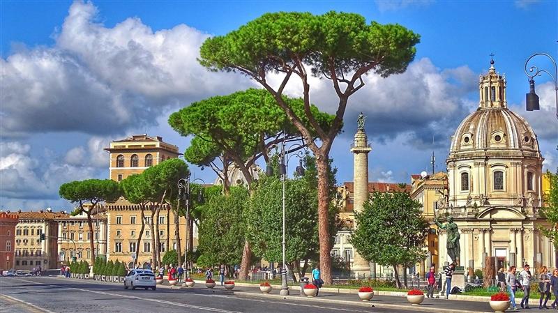 Primavara la Roma
