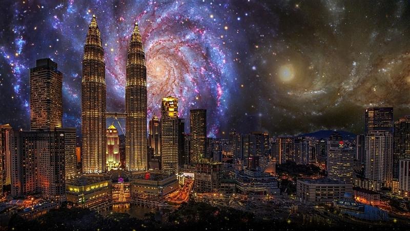 Revelion Singapore si Malaezia