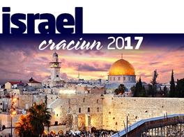 ISRAEL - CRACIUN LA IESLEA DIN BETHLEHEM · ISRAEL - CRACIUN LA IESLEA DIN BETHLEHEM Craciun 2017 pachet 4 nopti plecare din Bucuresti zbor Tarom